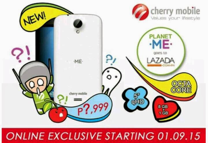 Cherry Mobile Me Vibe on Lazada this January 9?