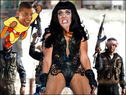 Kidnapped!: Katy Perry Roars Her Way Out of a Syrian Rebel Camp