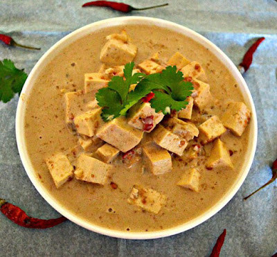 Easy Tofu in Satay Sauce
