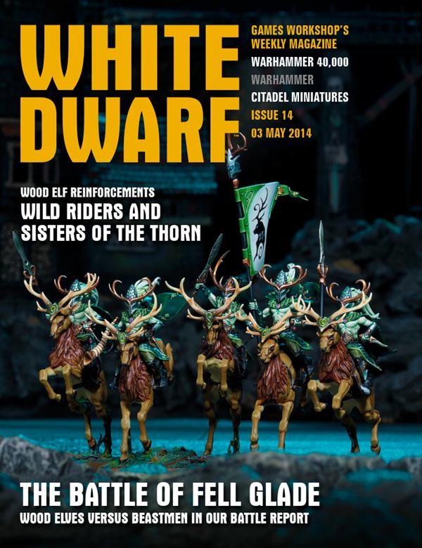 número 14 de la revista White Dwarf