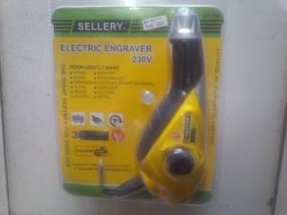 Electric Engraver Sellery - Jual Alat Ukir Bekasi - Alat Ukir Listrik Sellery