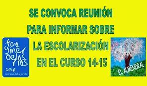 ESCOLARIZACIÓN 14-15