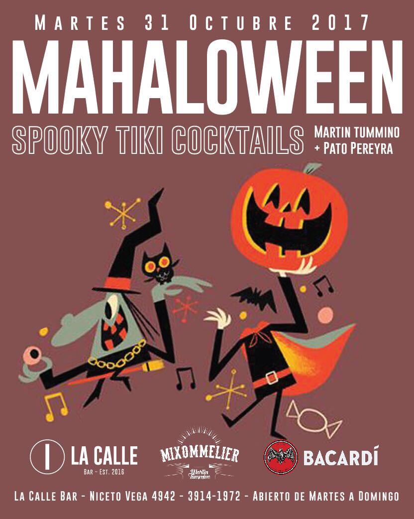 Mahaloween! Spooky Tiki Cocktails