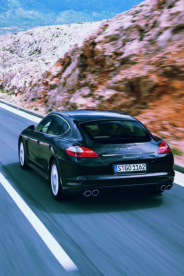 Iphone Wallpapers Pictures Porsche Panamera