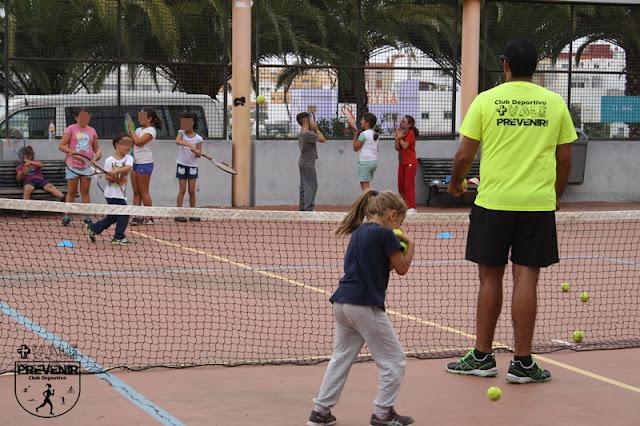 clases tenis niños