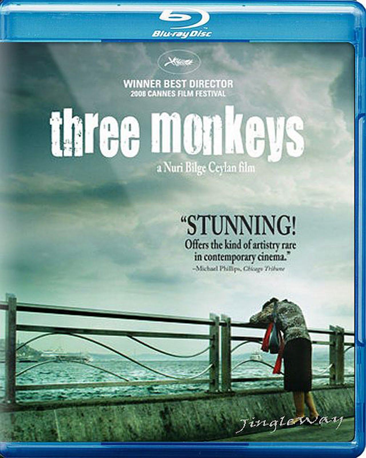Three Monkeys Blu-ray Case Box