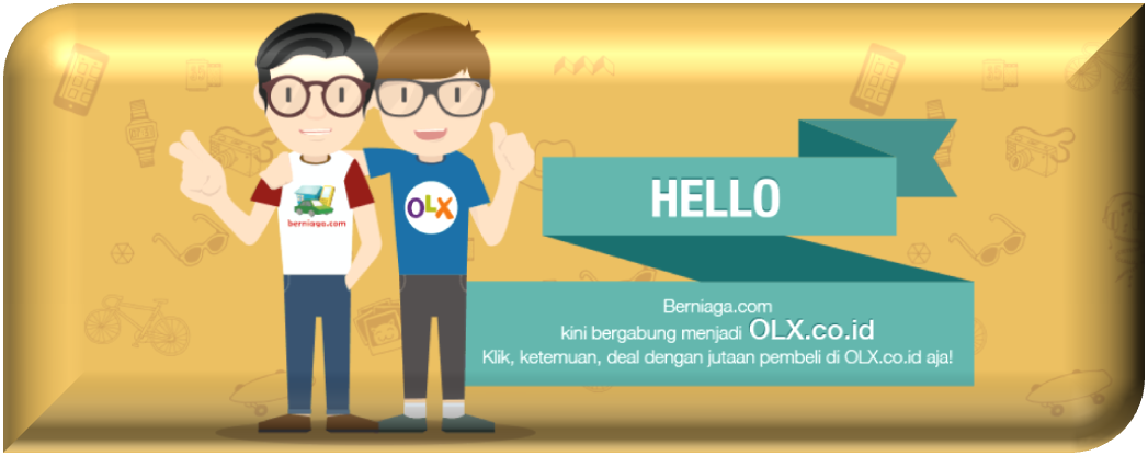 Berniaga.com kini bergabung dengan OLX.co.id