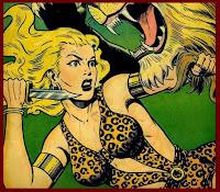 ...ou les forêts dangereuses dans lesquelles rôdent les Jungle Girls !