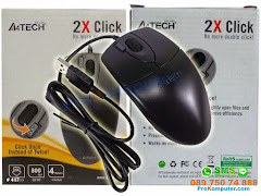 Mouse A4tech Optic Fitur Dobel Klik OP620D USB