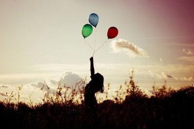 balloons girl photography