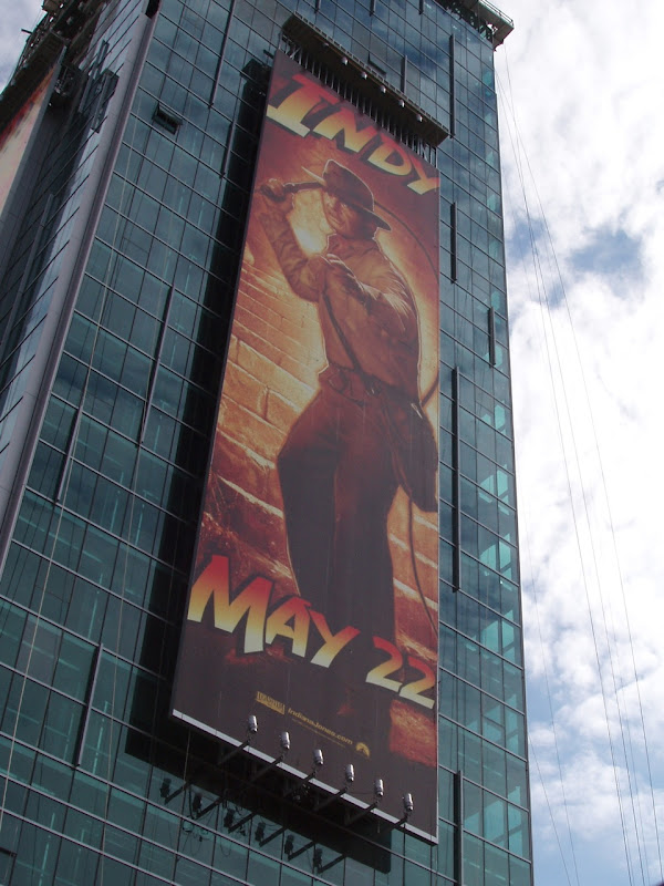 Indy 4 movie billboard