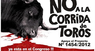 FIRMA para abolir las corridas de toros en el Perú - ¡Firma la petición!