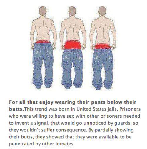 Origin Of Saggy Pants