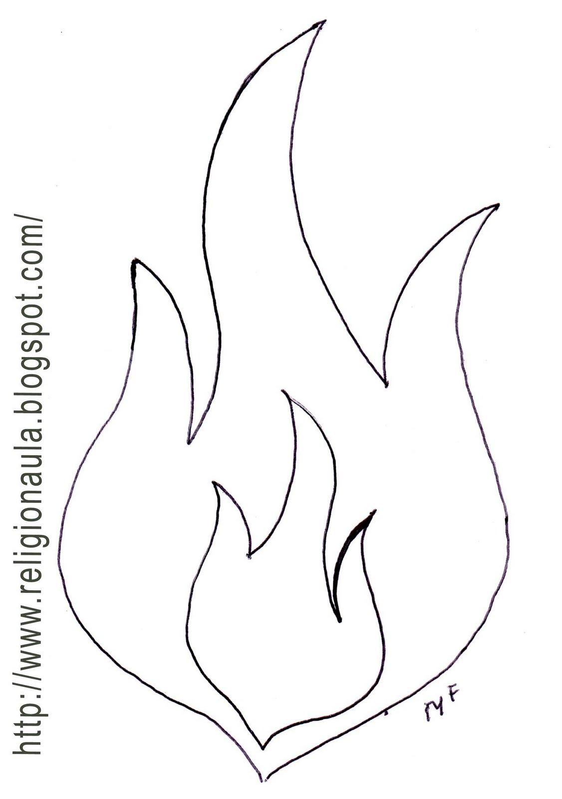 Lujo Página Para Colorear De Fuego Patrón - Ideas Para Colorear ...