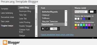 Cara Mudah Menghilangkan Judul Blog