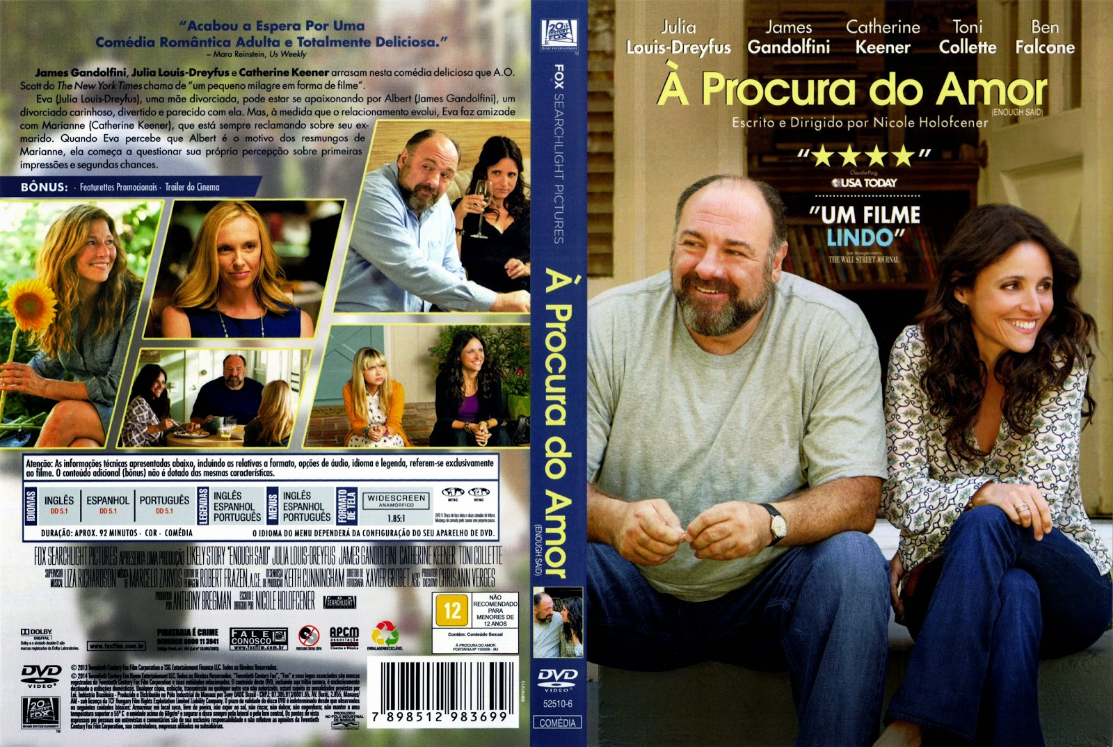 Capa DVD À Procura Do Amor