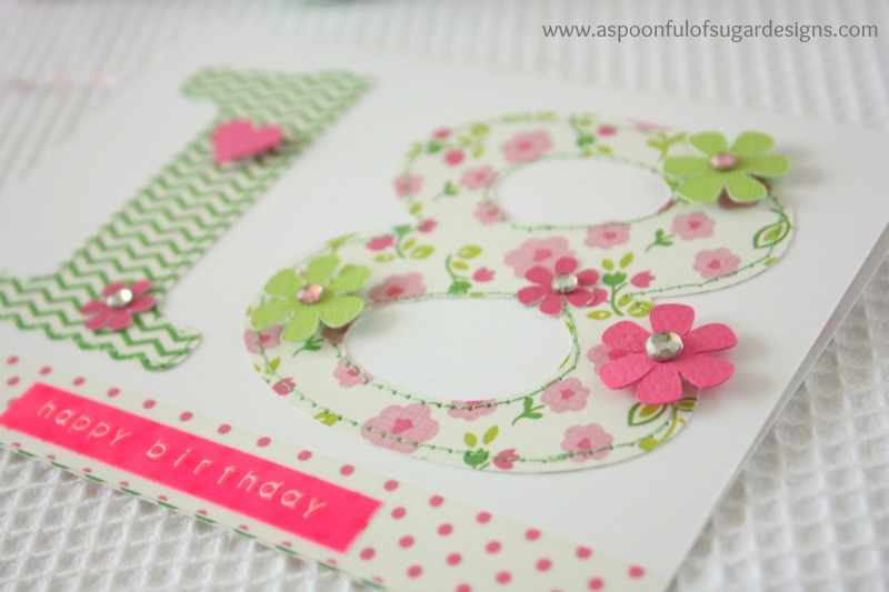 Easy Birthday Cards To Make A Spoonful Of Sugar