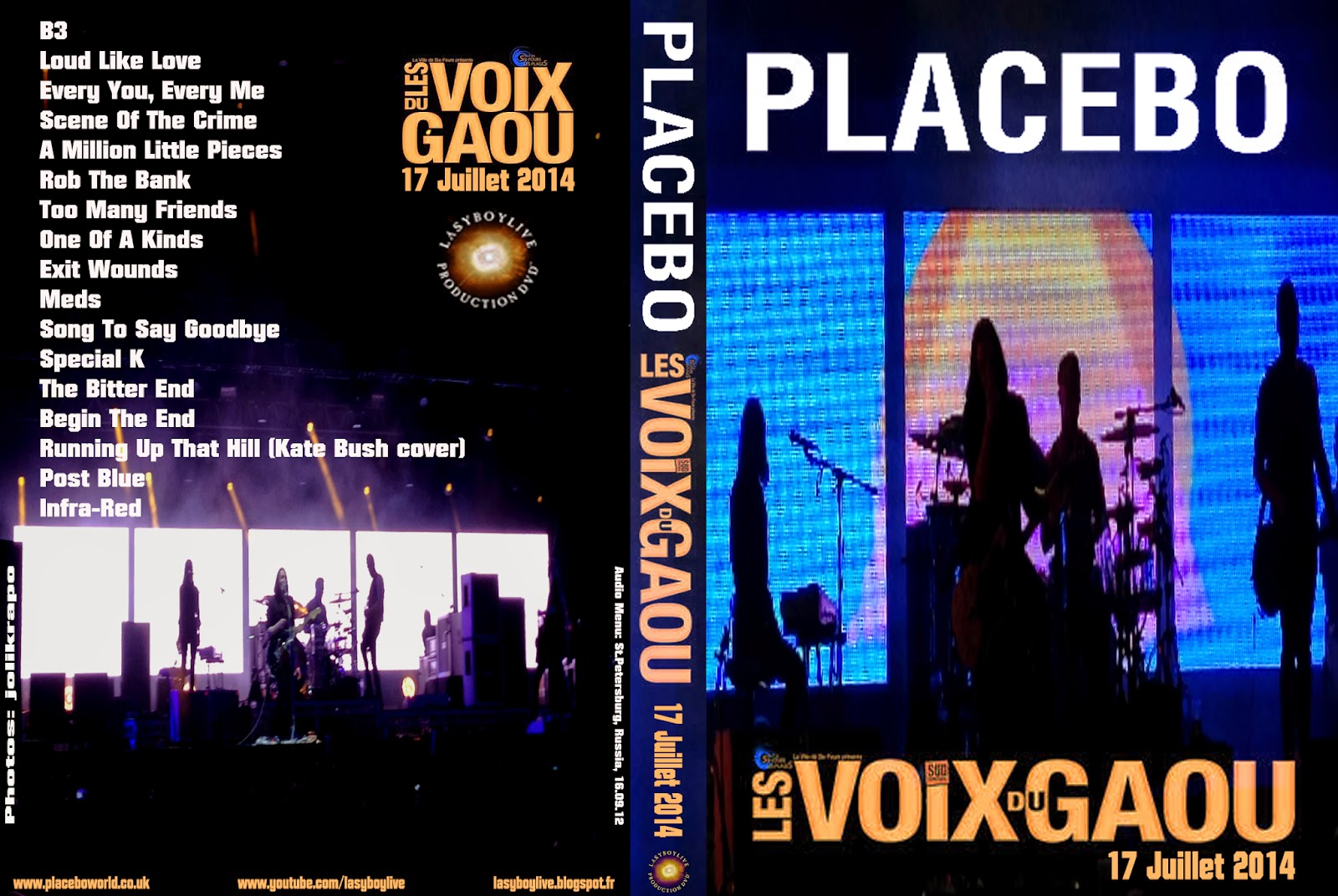 Six Fours Les Plages France  city photos gallery : Placebo @ Six Fours Les Plages Les Voix de Gaou , France, 17.07.14 ...