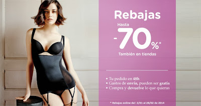 WOMEN SECRET REBAJAS 2014