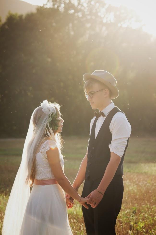 chic wedding italy