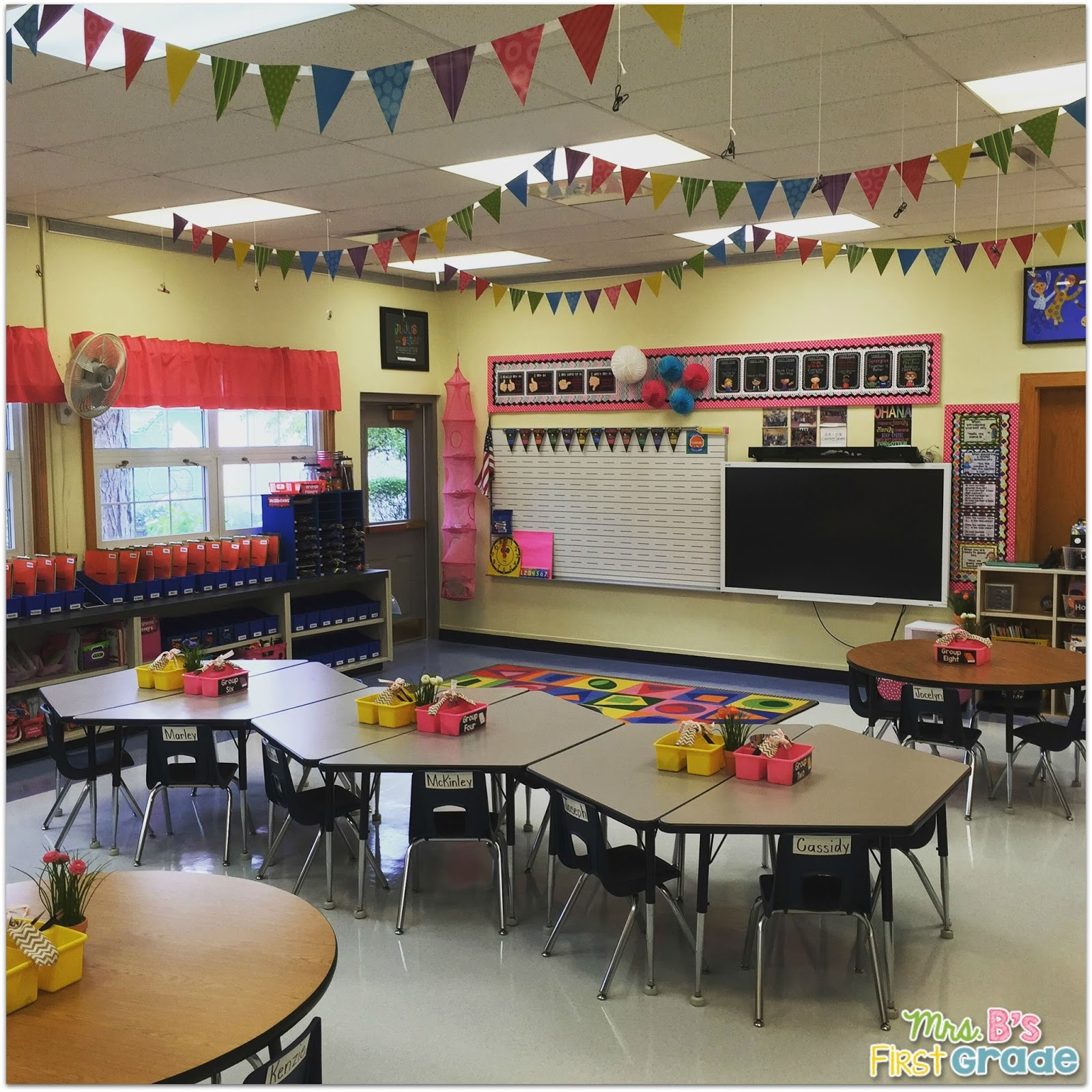 Innovative First Grade Classroom ~ My classroom mrs b s first grade