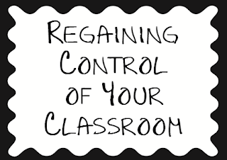 Guest blog post from HoJo at Hojo's Teaching Adventures where she shares Regaining Control of Behavior in Your Classroom!
