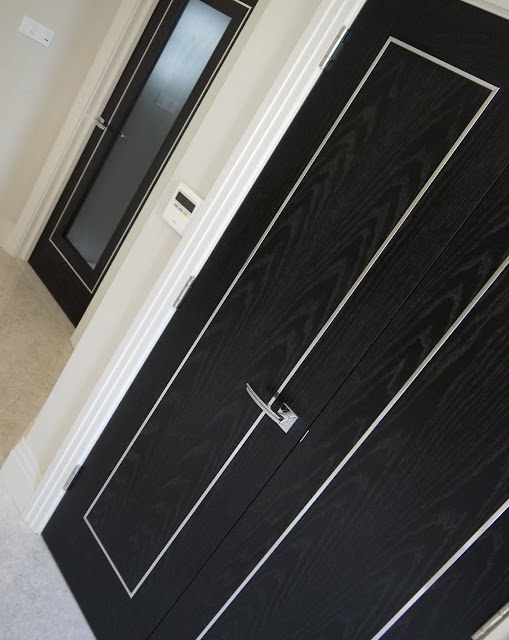 Gallery: White etching on door