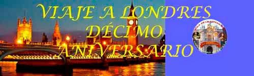 INSCRIPCION PARA VIAJE DÉCIMO ANIVERSARIO A LONDRES