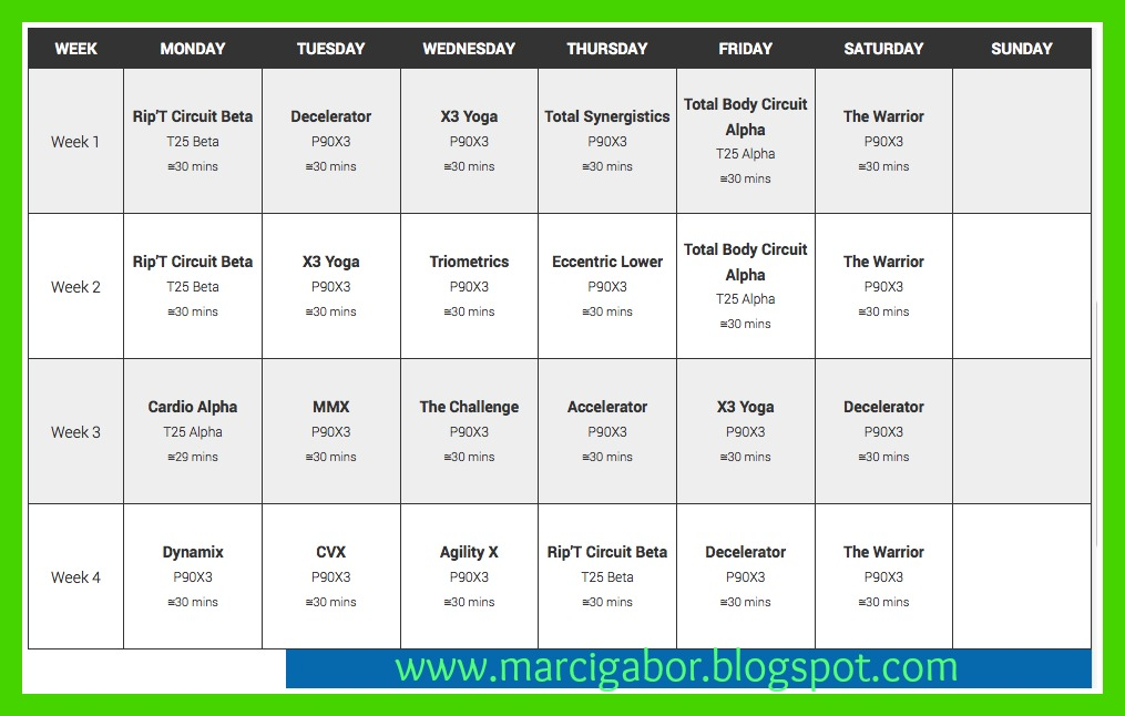 ... 646 jpeg 125kB, Rockin Body Schedule | New Calendar Template Site