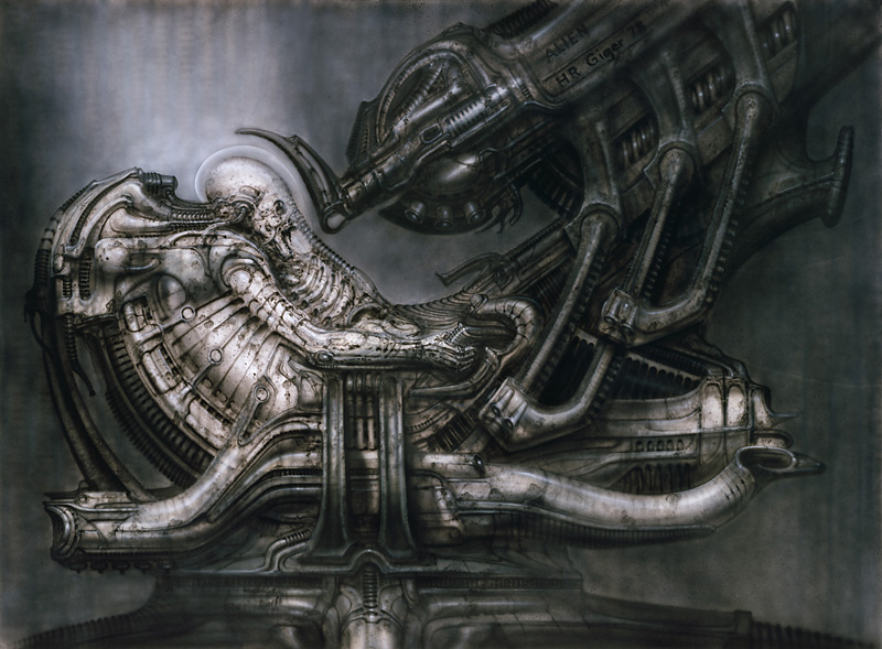 H. R. Giger [Pintura, Escultura, Diseño, Cine]