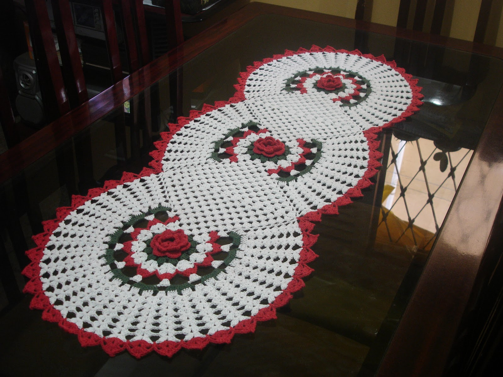 Colchas de Crochę - ::Pontos em crochę - Esquemas - Graficos