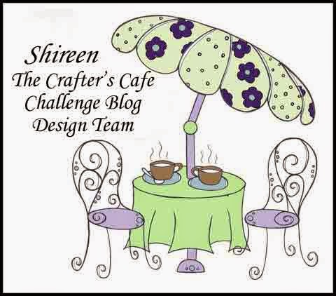 I am Design Team Member of Crafter's Cafe Blog