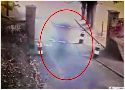 Bayangan Hantu Terakam Dalam Kamera CCTV