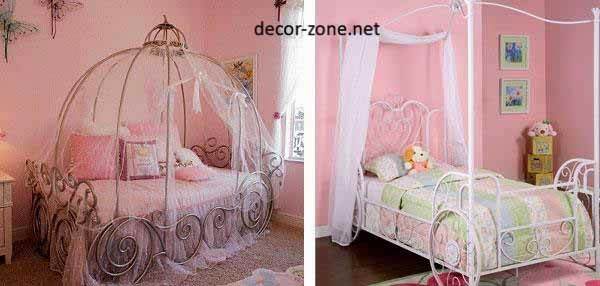 bed with canopies for girls bedroom designs