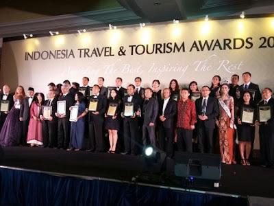 Daftar Pemenang Indonesia Travel and Tourism Awards 2015
