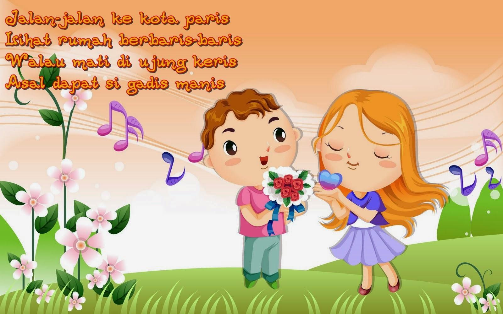 pantun gombal cinta romantis