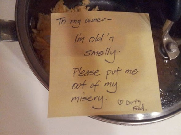 Hilarious Roommate Notices