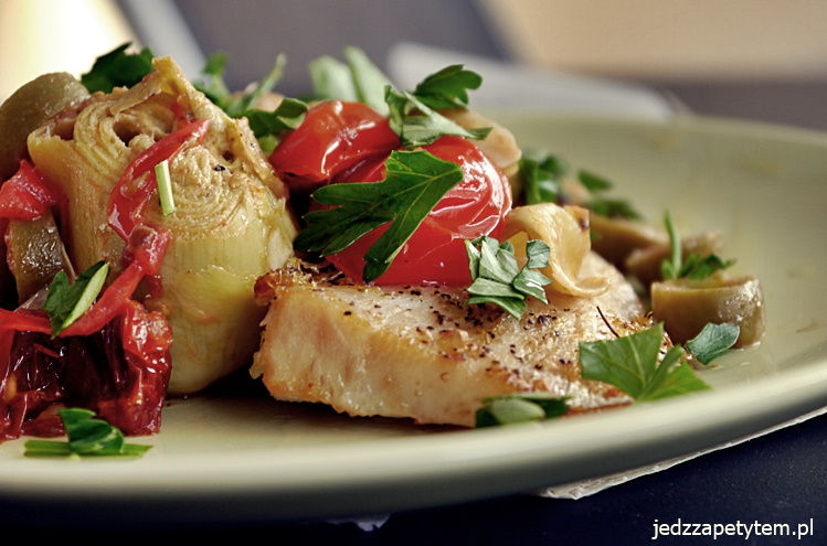 warzywa z patelni