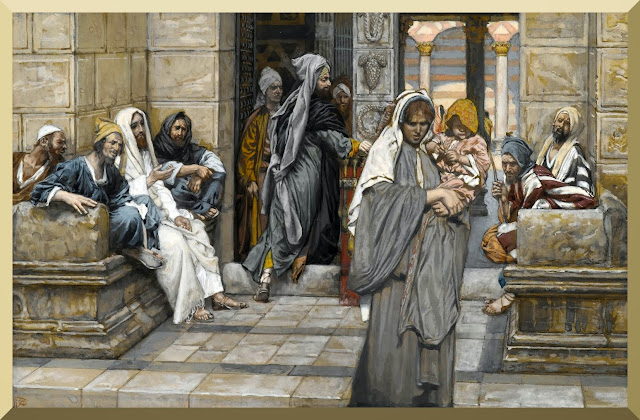 """The Widow's Mite"" -- by James Tissot"