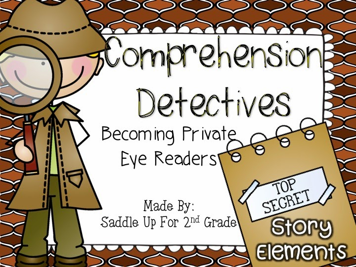Reading Comprehension Detectives: Story Elements by Saddle Up For 2nd Grade
