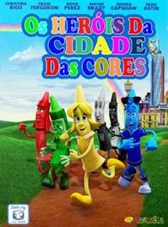 Os Heróis da Cidade das Cores - BDRip Dublado