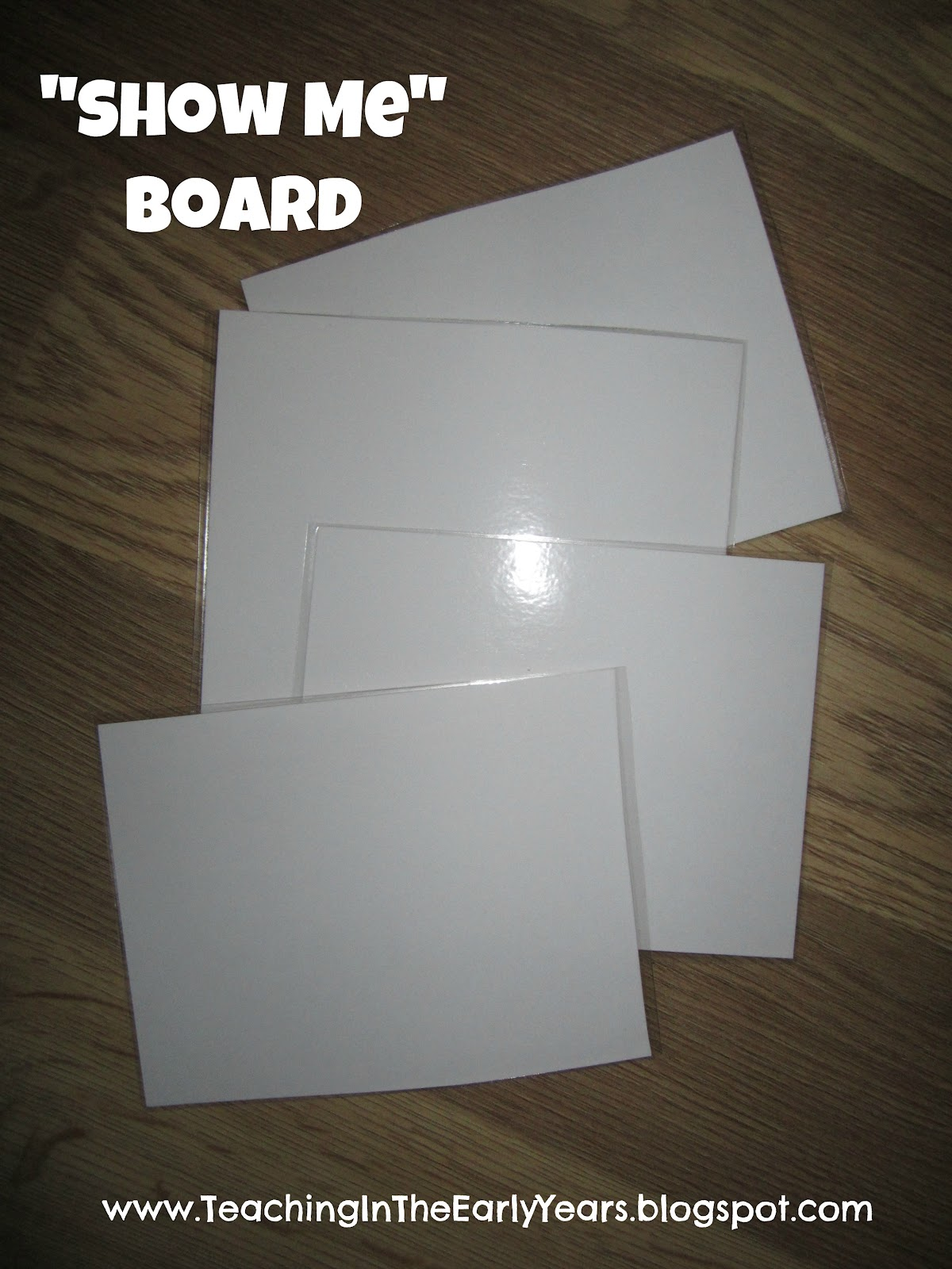 Laminated Boards S4 Tracker ~ Classroom diy quot show me board