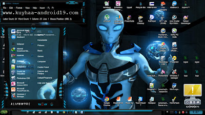 THEME WINDOWS 7 ALIENWARE+CURSORS