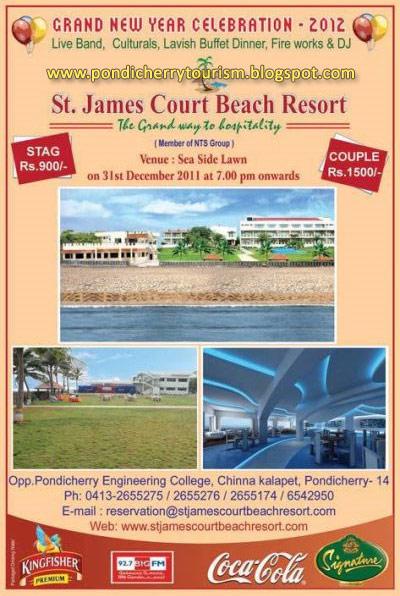 Pondicherry Beach Resorts Online Booking