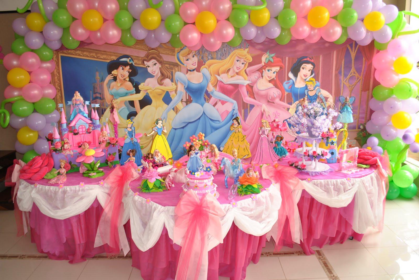 Jumandalaluana Decorao Princesas Disney