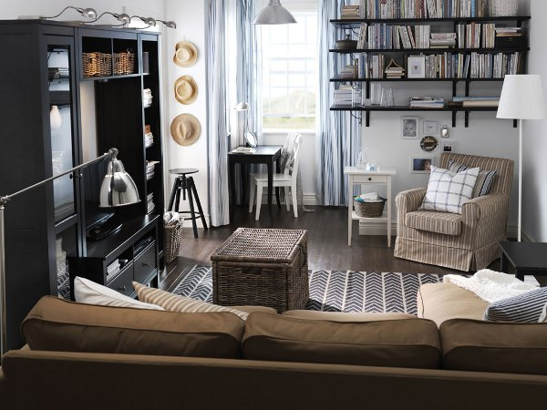 Natural Tones Keep It Calm Perfect For The Bookworm At Home