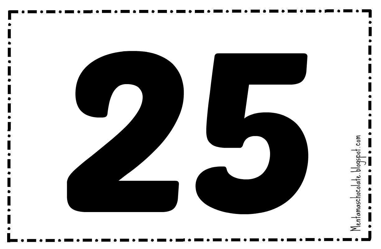 25 en nmeros - photo #2