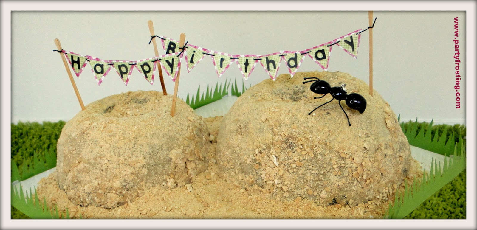 Party Frosting: Party Tutorials! Ants Go Marching Picnic
