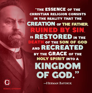 Herman Bavinck on the Proper Roles of Creation and Grace