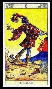 El loco en el Tarot